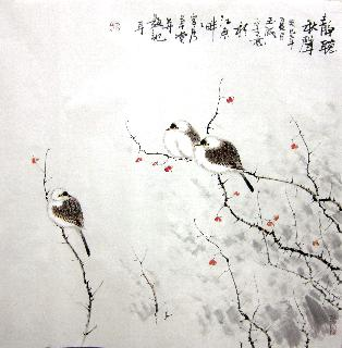 Chinese Other Birds Painting,66cm x 66cm,dyc21099045-x