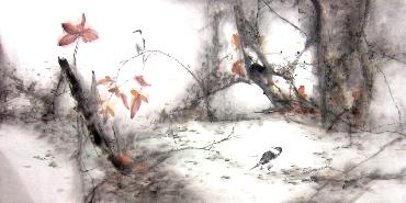 Chinese Other Birds Painting,66cm x 136cm,yh21101007-x
