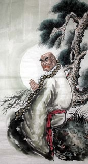 Chinese Other Buddha Painting,66cm x 136cm,3348027-x