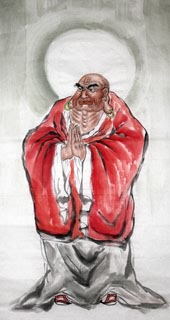 Chinese Other Buddha Painting,66cm x 136cm,3348028-x