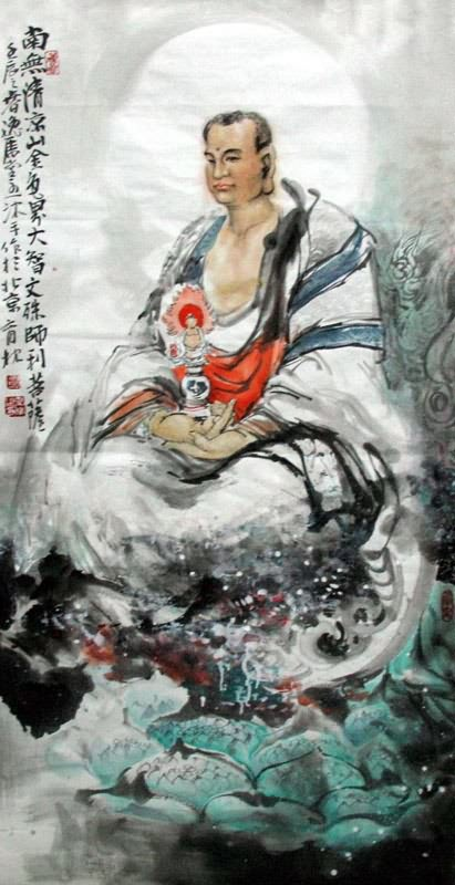 chinese other buddha painting 3447009  69cm x 138cm 27 u3003 x 54 u3003