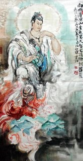 Chinese Other Buddha Painting,69cm x 138cm,3447010-x