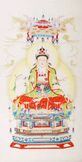 Chinese Other Buddha Painting,66cm x 130cm,3809019-x
