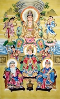 Chinese Other Buddha Painting,80cm x 130cm,3811006-x