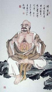 Chinese Other Buddha Painting,57cm x 110cm,3906017-x