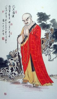 Chinese Other Buddha Painting,58cm x 112cm,3906019-x