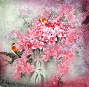 Chinese Other Flowers Painting,68cm x 68cm,2319084-x