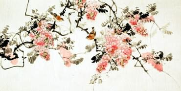 Chinese Other Flowers Painting,66cm x 136cm,2322017-x