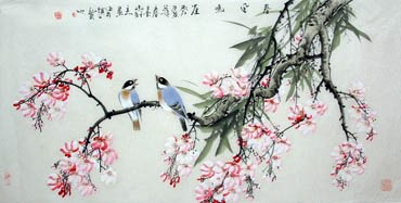 Chinese Other Flowers Painting,50cm x 100cm,2327003-x