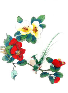 Chinese Other Flowers Painting,28cm x 35cm,2336080-x