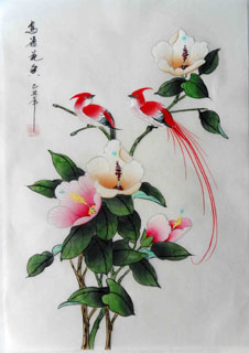 Chinese Other Flowers Painting,28cm x 35cm,2336081-x