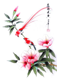 Chinese Other Flowers Painting,28cm x 35cm,2336085-x