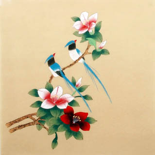 Chinese Other Flowers Painting,40cm x 40cm,2340019-x
