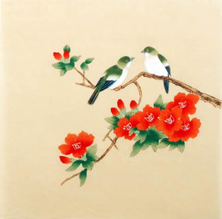 Chinese Other Flowers Painting,40cm x 40cm,2340025-x