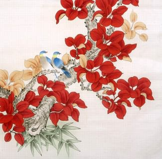 Chinese Other Flowers Painting,66cm x 66cm,2340032-x