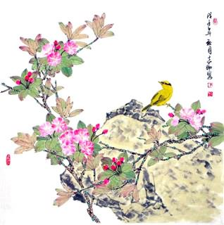 Chinese Other Flowers Painting,69cm x 69cm,2360068-x