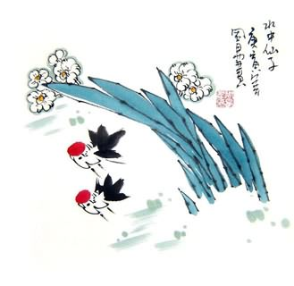 Chinese Other Flowers Painting,33cm x 33cm,2396020-x