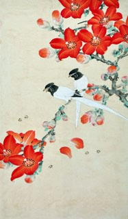 Chinese Other Flowers Painting,70cm x 40cm,2416022-x