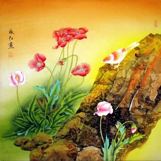 Chinese Other Flowers Painting,66cm x 66cm,2602001-x