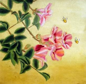 Chinese Other Flowers Painting,66cm x 66cm,2603001-x