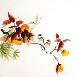 Chinese Other Fruits Painting,50cm x 50cm,2340131-x