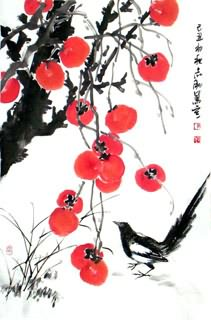 Chinese Other Fruits Painting,69cm x 46cm,2360100-x