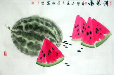 Chinese Other Fruits Painting,69cm x 46cm,2360101-x