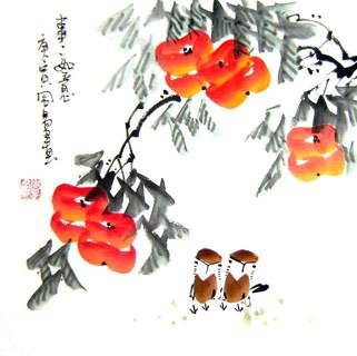 Chinese Other Fruits Painting,33cm x 33cm,2396043-x