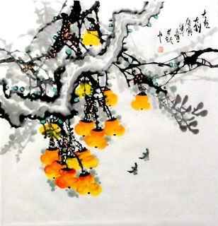 Chinese Other Fruits Painting,69cm x 69cm,2629015-x