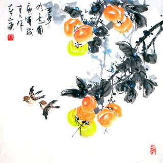 Chinese Other Fruits Painting,66cm x 66cm,2695026-x