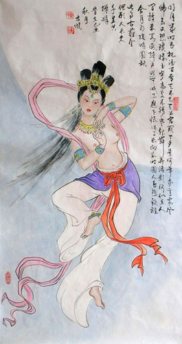 Other Mythological Characters,50cm x 100cm(19〃 x 39〃),3745012-z