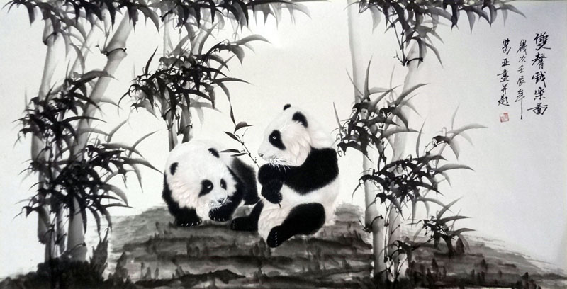 Image result for chinese landscape painting bamboo