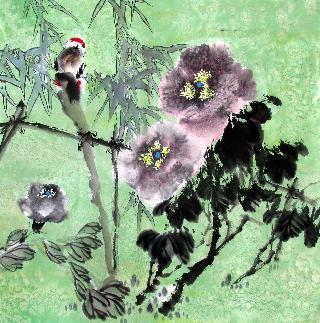 Fang Xin Quan Chinese Painting fxq21075001