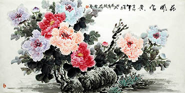 Lu Huo Rong Chinese Painting lhr21105002