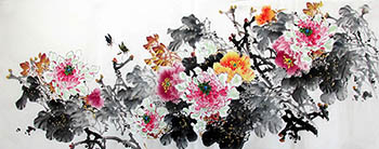 Leng Yu Mei Chinese Painting lym21071003