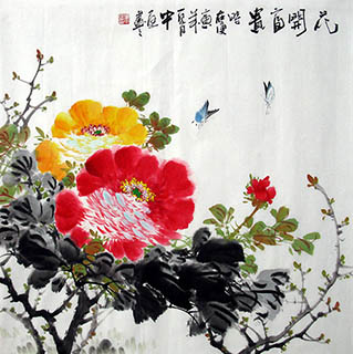 Zhang Zhong Ting Chinese Painting zzt21109001