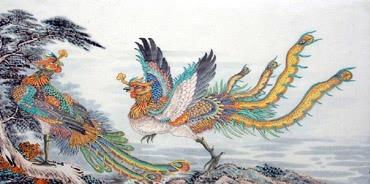 Lu Ming Hua Chinese Painting 4741005