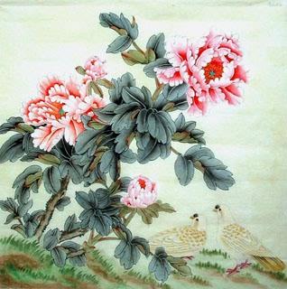 Jiang Yan Mei Chinese Painting 2614001