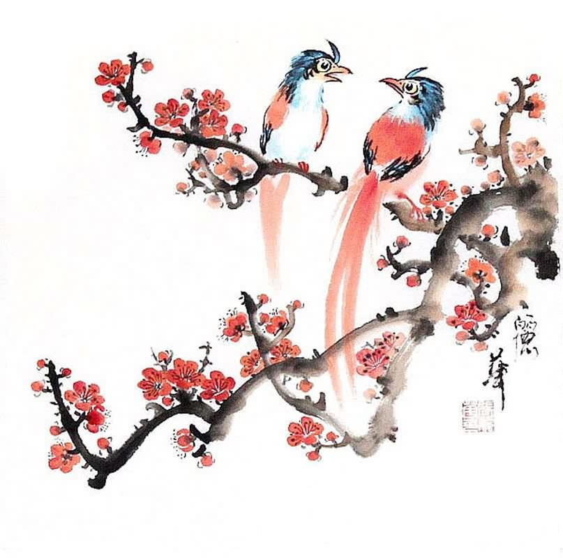 Chinese Brush Painting Ppt Background