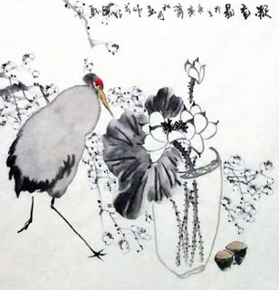 Chinese Qing Gong Painting,69cm x 69cm,2422019-x
