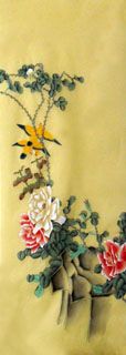 Chinese Rose Painting,50cm x 107cm,2336058-x