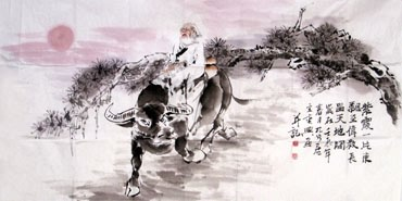 Chinese Sages Painting,80cm x 170cm,3082036-x