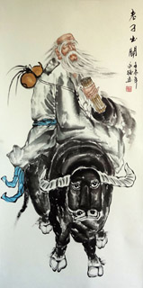 Chinese Sages Painting,66cm x 136cm,3082067-x