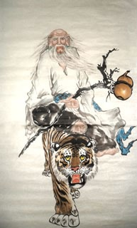 Chinese Sages Painting,66cm x 130cm,3348040-x