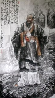 Chinese Sages Painting,80cm x 180cm,3447015-x