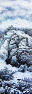 Chinese Snow Painting,35cm x 100cm,1109008-x