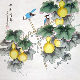 Chinese Vegetables Painting,66cm x 66cm,2703087-x
