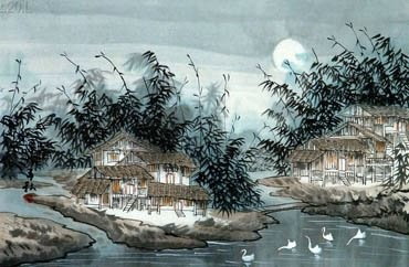 Zi Qiu Chinese Painting 1056001