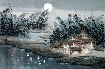 Zi Qiu Chinese Painting 1056005