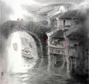 Zhang Li You Chinese Painting 1025036